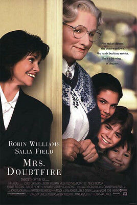 Mrs. Doubtfire (1993) original movie poster single-sided rolled