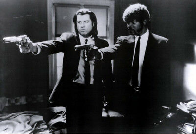 Pulp Fiction (1994) movie poster version C reproduction single-sided rolled