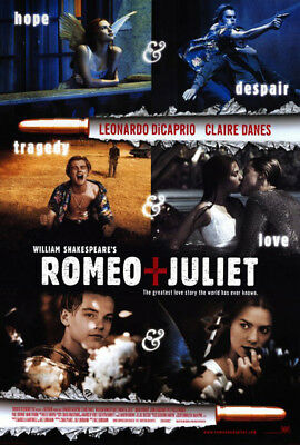 Romeo & Juliet (1996) movie poster version C reproduction single-sided rolled