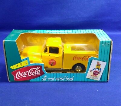 ERTL 1956 Ford Pick Up Coca Cola BANK Die-Cast MINT Boxed 1:24