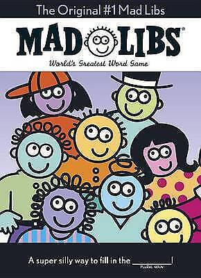 The Original #1 Mad Libs: The Oversize Edition by Price, Roger -Paperback