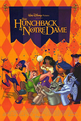The Hunchback of Notre Dame (1996) movie poster intl. reproduction s-s rolled