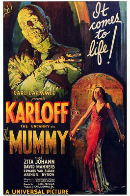 The Mummy (1932) movie poster reproduction single-sided rolled