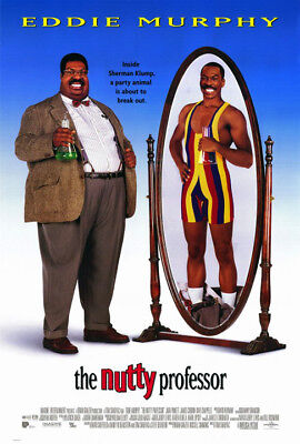 The Nutty Professor (1996) original movie poster intl. double-sided rolled