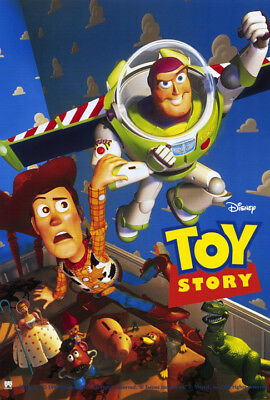 Toy Story (1995) movie poster version B reproduction reproduction s-sided rolled