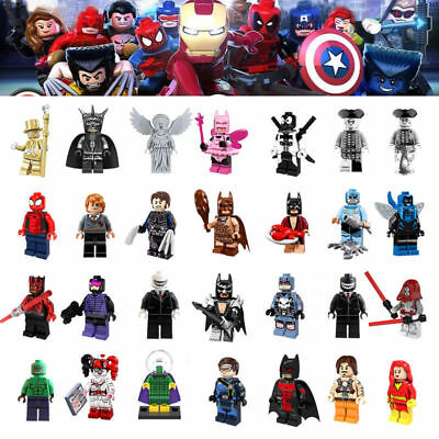DIY Super DC Building Blocks Heroes Batman Movie Mini Lego Figure Toys Children