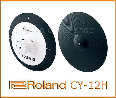 """Roland CY-12H Dual Trigger Pad Excellent V Drums Electronic hihat cymbal pad 12"""""""