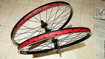 "DMR  26"" jump bike wheels weinmann rims"