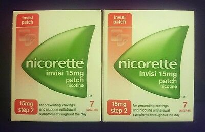 Nicorette  15mg   (  21 PATCHES   )    &   2mg   (  25  PIECES  ICY WHITE GUM  )
