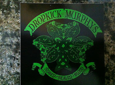 Dropkick Murphys sticker for signed and sealed in blood cd Boston band Newest