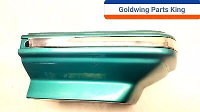 1994 Honda Goldwing GL 1500 SE Bermuda Green Rt Upper Engine Side Cover #94SE 08