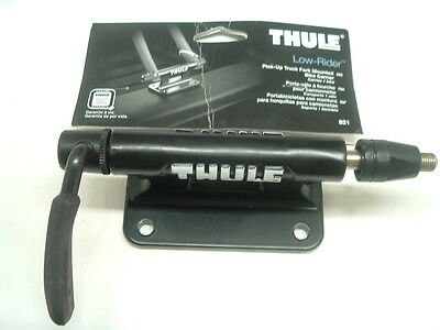 Thule 821 Low-Rider NEW Pick-Up Truck Fork Mount- One Bike- New In Bag+++