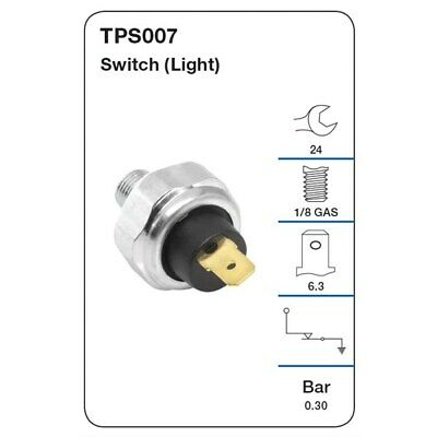 Tridon Switches Oil Pressure TPS007 fits Toyota Land Cruiser 40 Series 3.6D (...