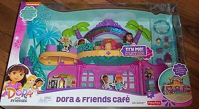 Fisher-Price Nickelodeon Dora and Friends Cafe - NEW