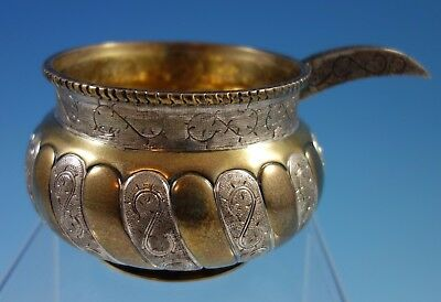 Tane Mexican Mexico Sterling Silver Cossack Kovsh Bowl Russian Influence (#1710)