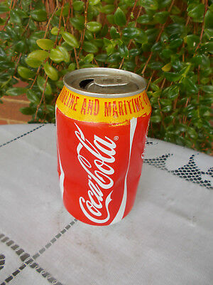 """VINTAGE COCA COLA/COKE CAN """"FOR ON BOARD AIRLINE & MARITIME CONSUMPTION"""" 330ml"""