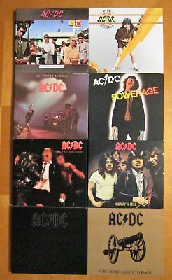 AC/DC - 8 CD Lot - Remastered Digipak - Classic Rock Band - Angus Young - NEW!