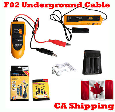 From CA F02 Underground Cable White LED Flash Light Wire Locator Tracker Lan