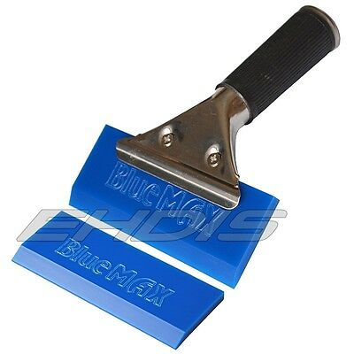 Blue Max Rubber Vinyl Squeegee & PRO Handle Window Glass Tint & Clean Tools Kits