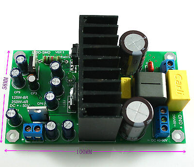 L15DSMD 250W IRS2092S Class D Mono Amplifier completed board LJM