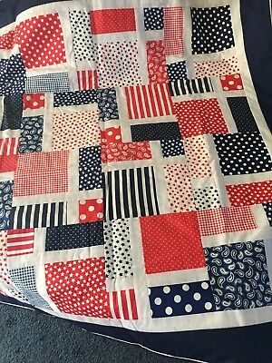 Hand Made Lap Quilt