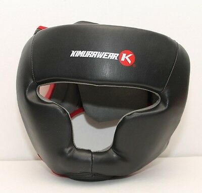 Kimurawear Aspire Series Full Chin Head Gear Adult Small - Boxing MMA Muay Thai