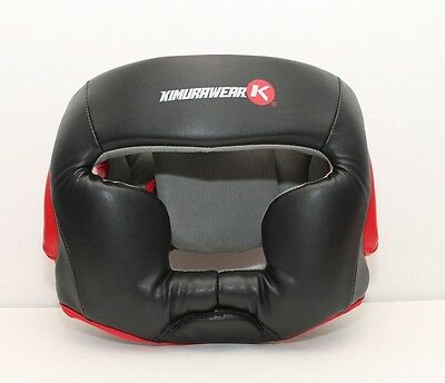 Kimurawear Aspire Series Full Chin Head Gear Adult Large - Boxing MMA Muay Thai