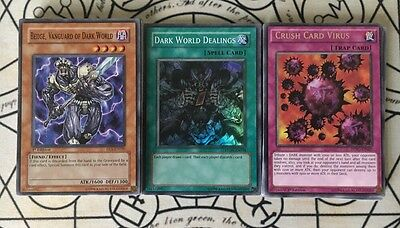 Yugioh Dark World Deck Includes Secret Rare Tour Guide