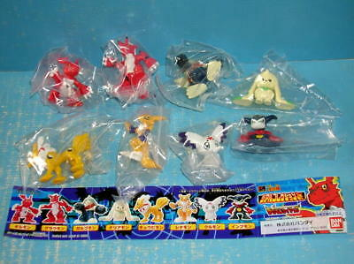 Digimon Tamers Figure Set Gilmon Renamon from Japan F/S