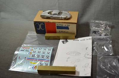 AMR 1/43 ALPINE A210 LM68/69 Vintage Unassembly Metal Kit from Japan F/S