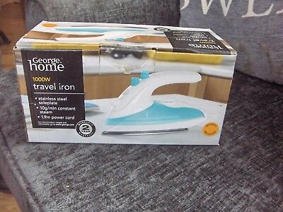 1000W Steam Travel Iron, bnib