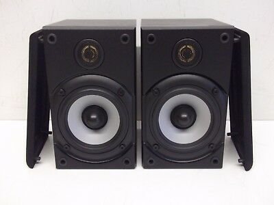 MONITOR AUDIO BABY BOOKSHELF BOOMER SPEAKERS BLACK - Made in England