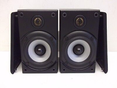 Monitor Audio Baby Bookshelf Satellite Speakers Black