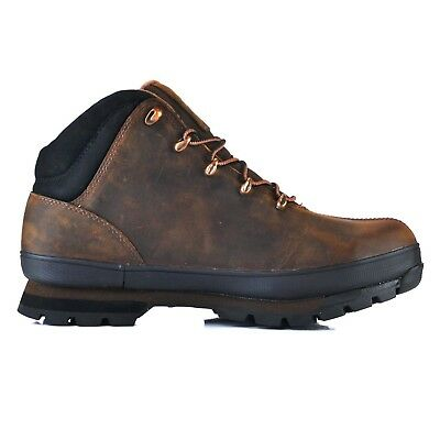 Timberland Pro Steel Toe Work Brown Safety Boots Hiker Pro Splitrock 6201043