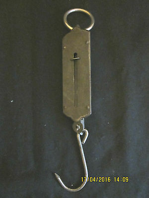 "Vintage ""mp"" Product Spring Balance Scales-Fishing/luggage-Complete - Gc~"
