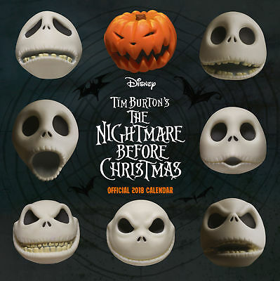 Nightmare Before Christmas Official Calendar 2018