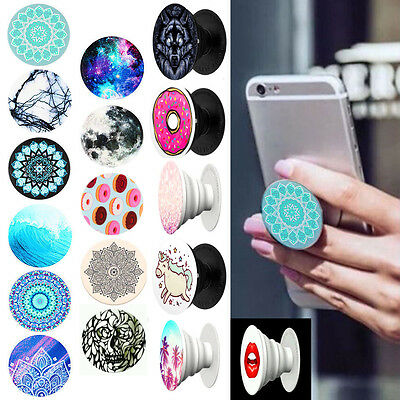 UK  SELLER Popsocket Expanding Phone Grip Stand Holder for Iphone Samsung Galaxy