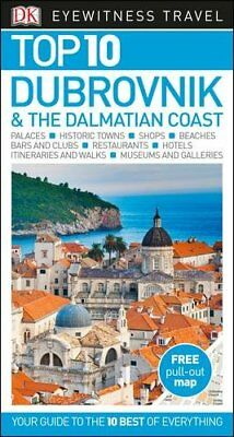 DK Eyewitness Top 10 Travel Guide Dubrovnik & the Dalmatian Coast, DK, New Book