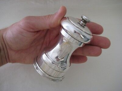 Vintage Stainless Steel Pepper Mill TUCAN PAT.