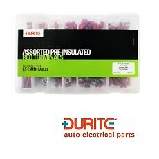 Durite 0-203-01, Assorted Box Of Pre-insulated Red Terminals