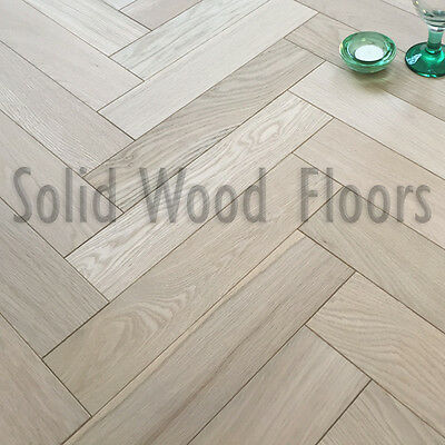 Select Solid Oak 70 x 21 x 300mm Unfinished Parquet Flooring