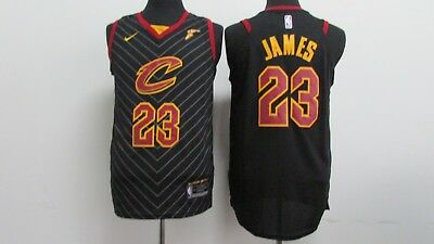 New Cleveland Cavaliers #23 LeBron James basketball Jersey (black) Size: S - XXL
