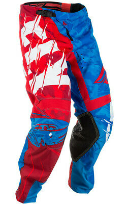 Fly Racing Kinetic Outlaw Pants 18 Red/Blue 371-53218