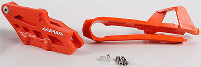 Acerbis Chain Guide and Slider Kit Orange 2421140036