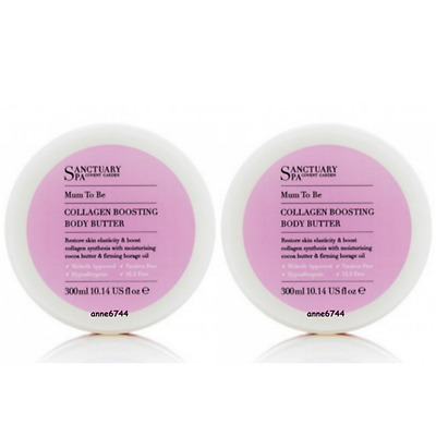 Sanctuary Spa MUM TO BE Collagen Boosting Body Butter - 2 x 300ml