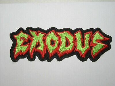 EXODUS Fabulous Disaster logo embroidered NEW patch thrash metal