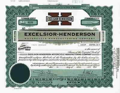 Excelsior Henderson Motorcycle Manufacturing Co. 2000 Minnesota Hanion SUPER - X