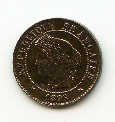 1 Centime 1896 . A . Paris - Cérès /n°367