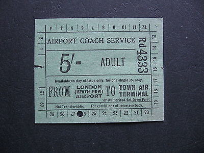 Airport Coach Ticker Heath Row