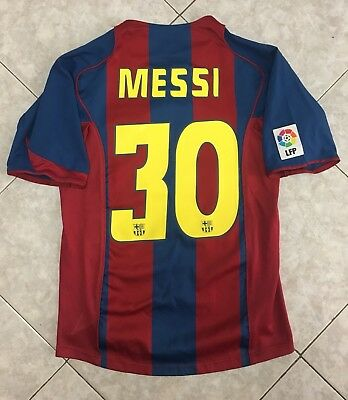 Maglia Barcelona Nike Messi 30 Camiseta Liga Shirt Trikot Football Old Vintage